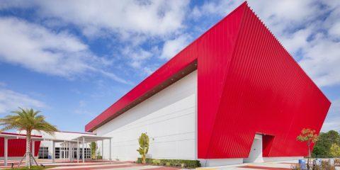 intergenerational recreation center building